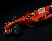 3D // Ferrari F1 - F2008
