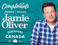 Jamie Oliver Discovers Canada Packaging