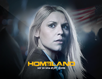 Showtime: Homeland S3 - Tablet Experience