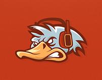 Quacken - Mascot Logo