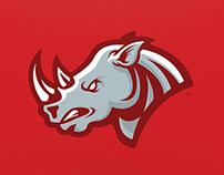 Rhino - Mascot Logo