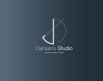 Damian's Studio Branding