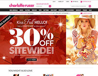 Charlotte Russe Site Updates
