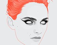 Orange Hair Portrait