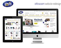 eXtra.com Redesign Concept