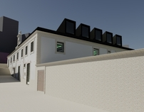 New Municipal Library in Baiona, Pontevedra, España