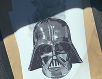 "Commission - ""DARTH VADER"" Print"