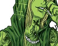 """Illustration for Hong Kong Comic """"FETTER"""" #04"""