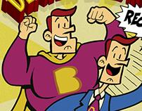 """Dexter Balance"" Marketing Comic Book"