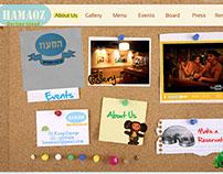 Bar Website - Hamaoz
