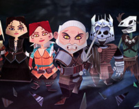 Witcher 3 Papertoys