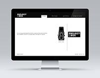 Project Box Mock-up Website Ver.1