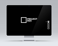 Project Box Mock-up Website Ver.2