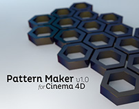 Pattern Maker v1.0 for Cinema 4D