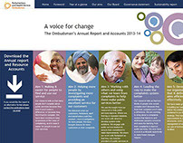 Annual Report site for the Parliamentary Ombudsman