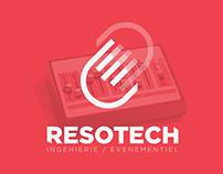 Resotech - Logo & Branding (2/3)