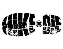 'Hike Or Die' Logo Design