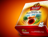 Tanjal Tea - Packaging design