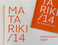Matariki Calendar