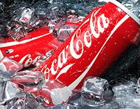 Coke Cans 3D