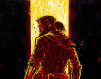 MGSV: The Phantom Pain - Venom Snake poster