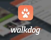 Walk Dog Social App