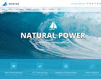Marine - Retina Responsive Multi-Purpose Theme