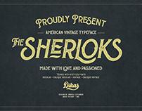 The Sherloks - FREE FONTS