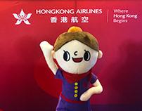 Hong Kong Airline illustration Project