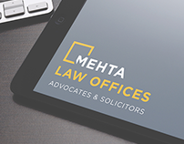 Mehta Law Offices Website