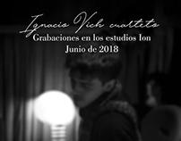 Ignacio Vich cuarteto| Junio de 2018.