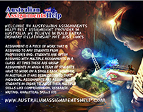 Australian Assignment Help with Quality Writing
