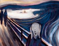 #MunchContest - 'The Scream, frosty' - David Bayo