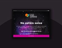 Fundación Carreras / Web Design