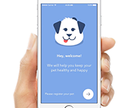 Concept App for your Pet's health record