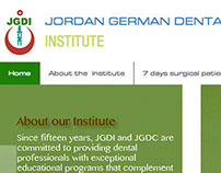 Jordan Germany dental Institute website