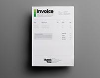 Ultra Minimalist Quotation / Invoice Template