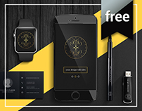 Free Mock Up PSD Template
