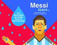 Messi tears