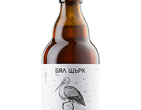 White Stork beer bottle