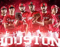 2015 Houston Baseball Graphics