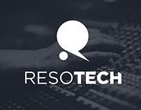 Resotech - Logo & Branding (3/3)