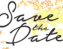 Wedding Invitations & Save the Dates: Ray & Megan
