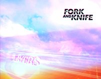 Fork & Knife 'Layers' EP + Logo design