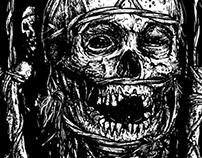 Podredumbre t-shirt/cover artwork