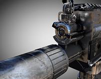 FN SCAR-H 7 Gun