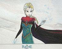 Frozen/La Reine Des Neiges Birthday Present