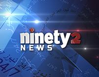 Ninety2 Channel- News Ident