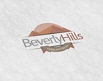 """Beverly Hills Hotels and Resorts"" Logo Design"