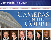 C-SPAN Cameras in the Court page redesign